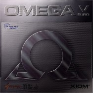 Xiom Omega V Euro Table Tennis Rubber