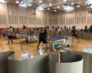 The Newark June Open took place at a great venue, the Siliman Center, in neighboring Newark.